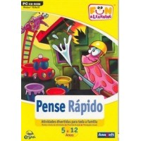 Pense Rápido  5 a 12 Anos  Fun & Learning  CD ROM